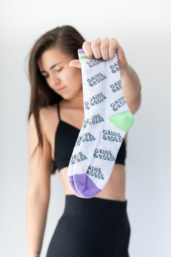 Gains and Rosexs Unisex Socken