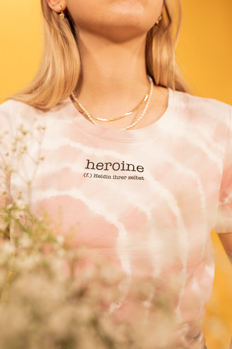 Heroine Spring Edition Batik rosa - Cropped Top