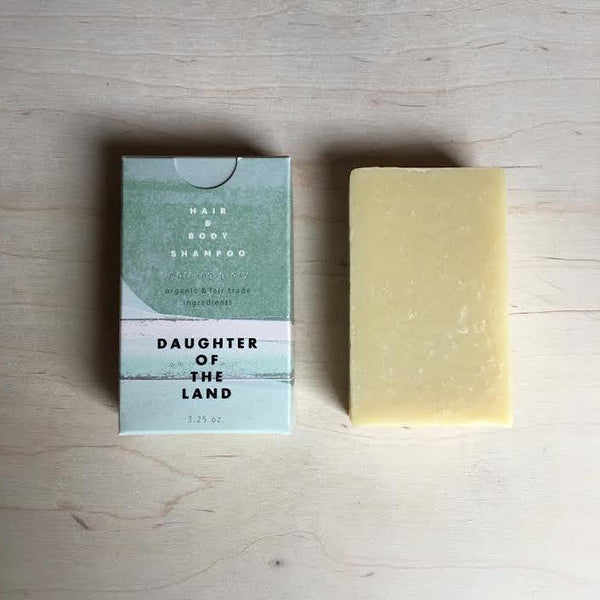 Hair and Body Shampoo Bar - Morning Glory