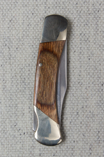 Heritage Walnut Trapper Knife