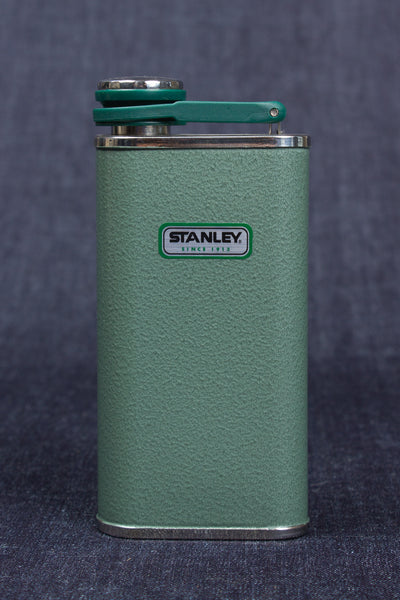 Hammertone Green Stainless Steel Flask