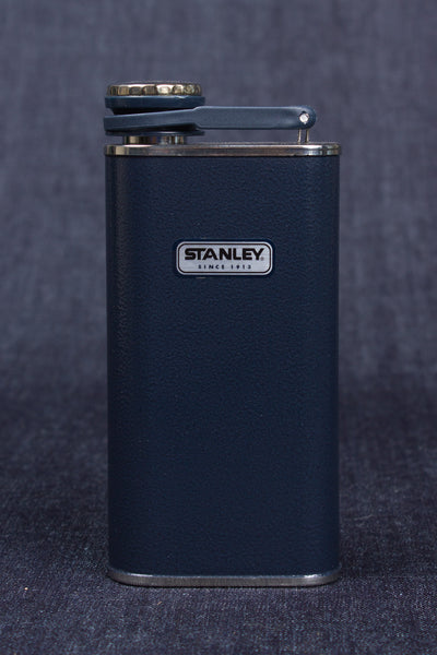 Navy Blue Stainless Steel Flask