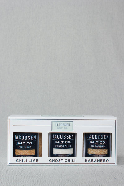 Spicy Sea Salt Trio