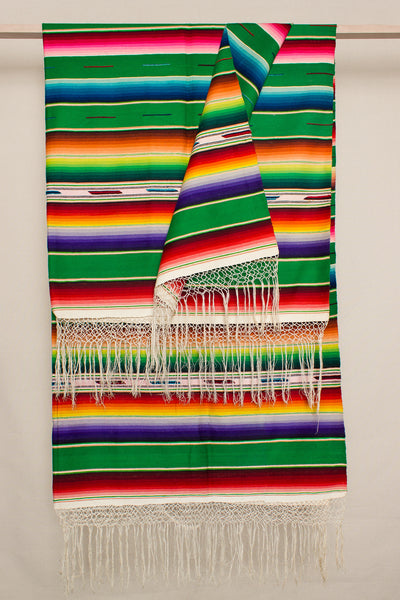 Large Green Serape 1
