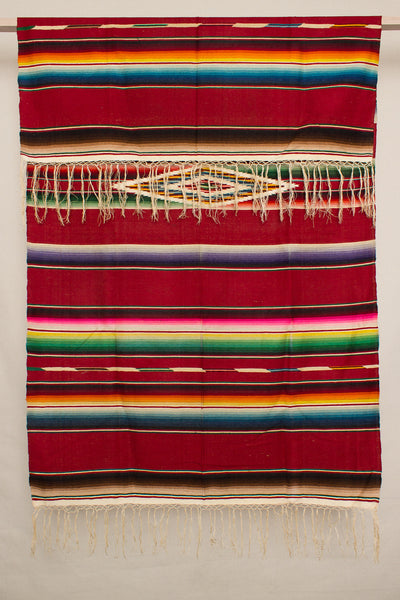 Large Red Serape