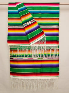 Large Green Serape 2