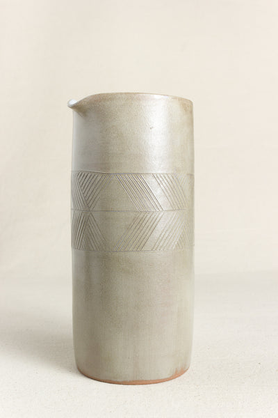 Etched Tube Pitcher
