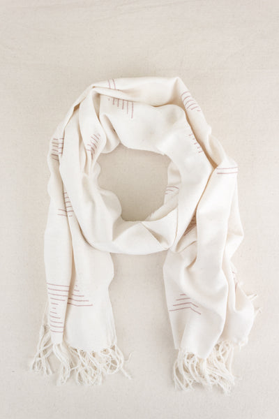 Shapes Scarf in Pink
