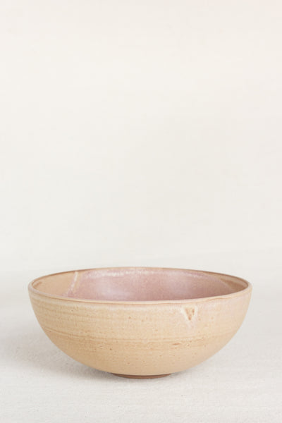 Footed Bowl in Rose