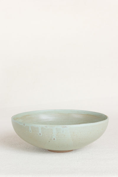 Footed Bowl in Sage