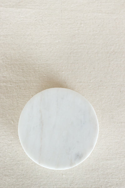White Marble Coaster (set of 4)