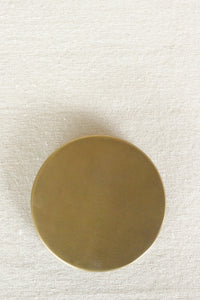 Brass Patinaed Coasters (set of 4)