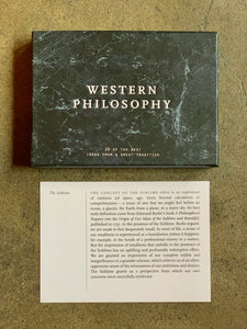 Western Philosophy Cards