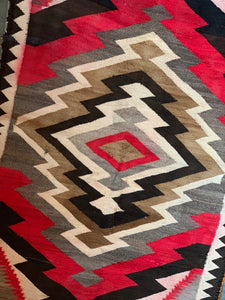 Multi Color Navajo Rug