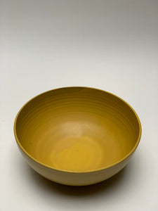 Large Salad Bowl in Turmeric