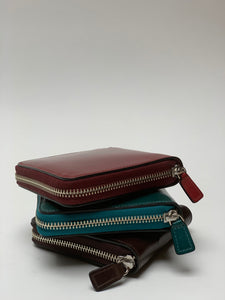 Il Busetto Square Zipper Wallet
