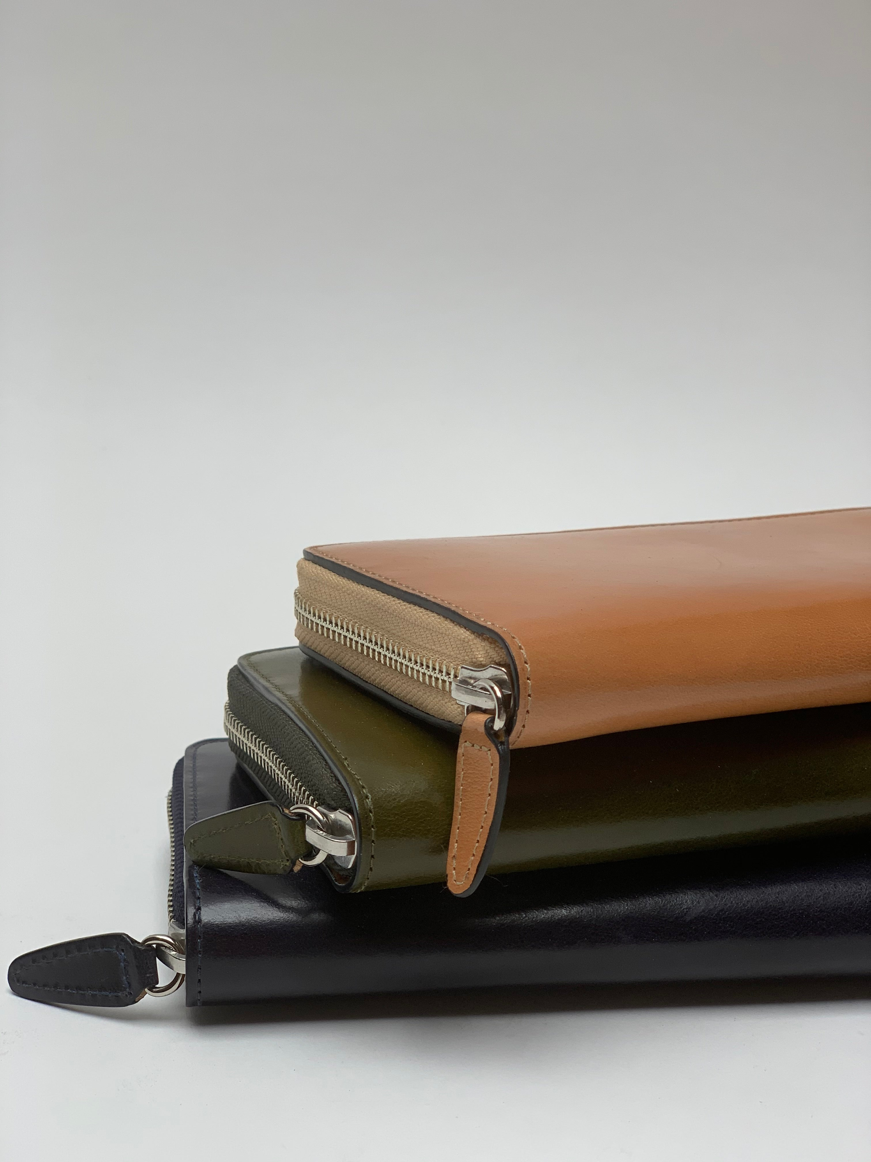 Il Busetto Long Zipper Wallet