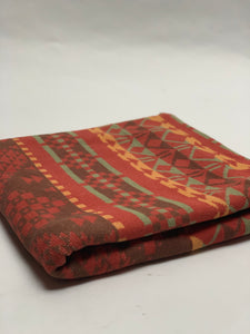Red, Grey + Yellow Beacon Blanket