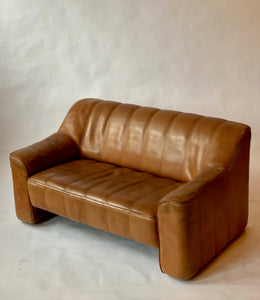 1970s Vintage De Sede DS44 Loveseat Sofa