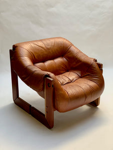 *For Jared* 1970's Percival Lafer Leather Chair + shipping