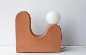 Little Hills Terra-Cotta Table Light