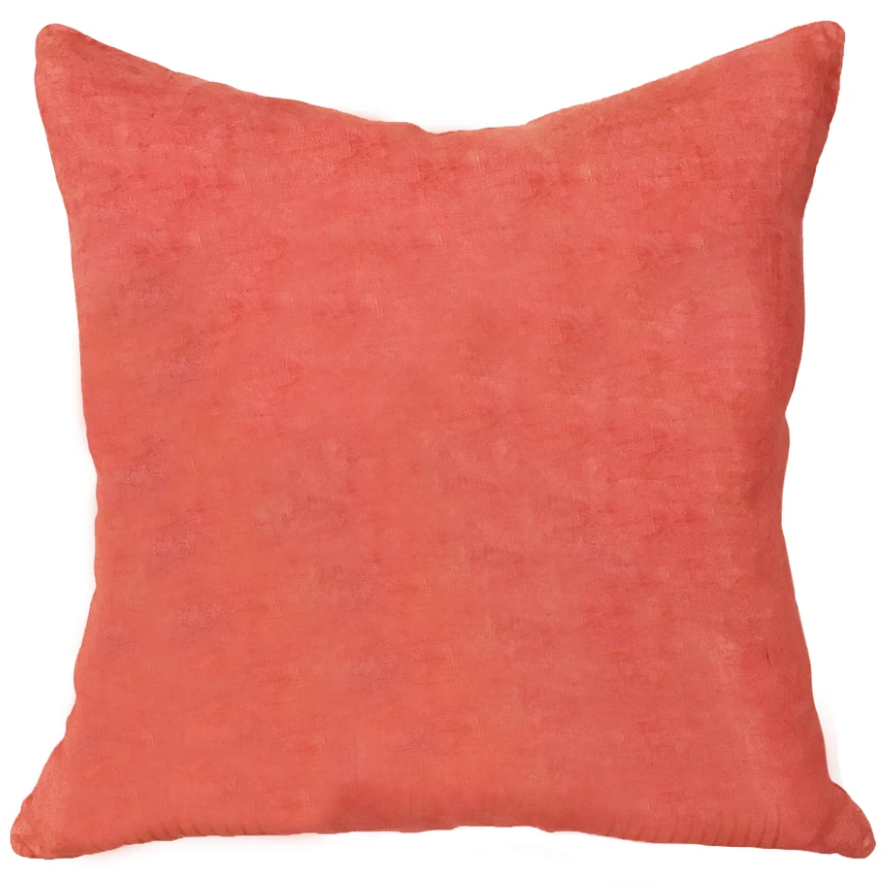 Block Shop Palace Pillow in Coral