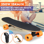 Electric Long-board Skate Board with Remote Control