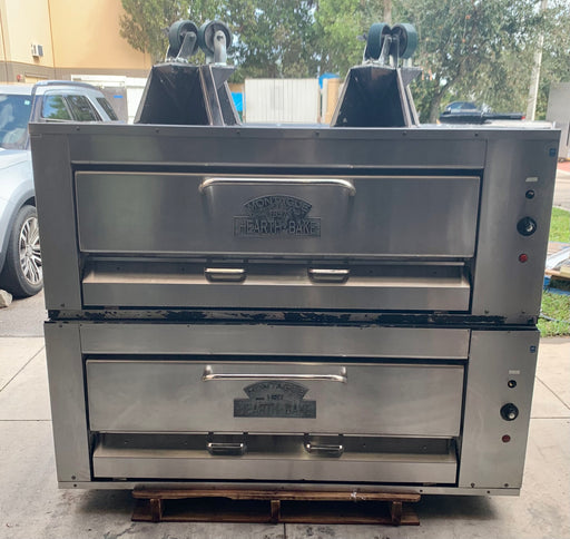 Montague 24P-2 4 pie pie Doublestack NG pizza ovens