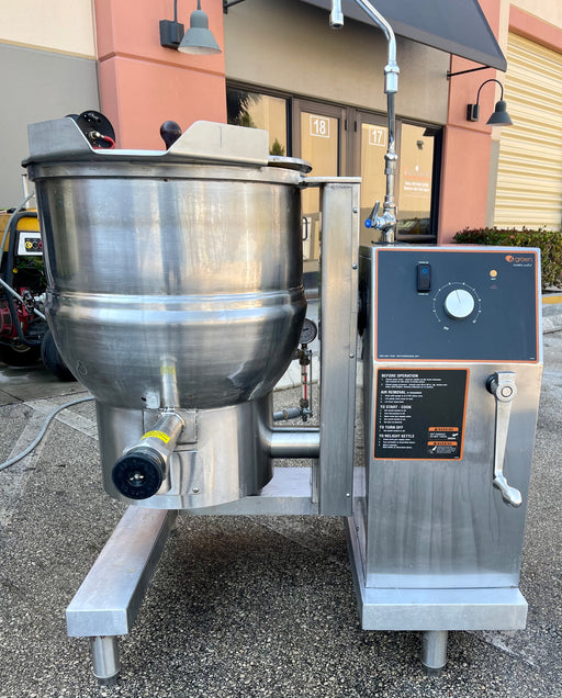 Groen 20gal Tilting Kettle DH-20C Used MFG 10/2019