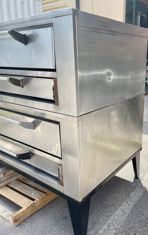 Marsal SD660 Doublestack 6 pie pizza oven