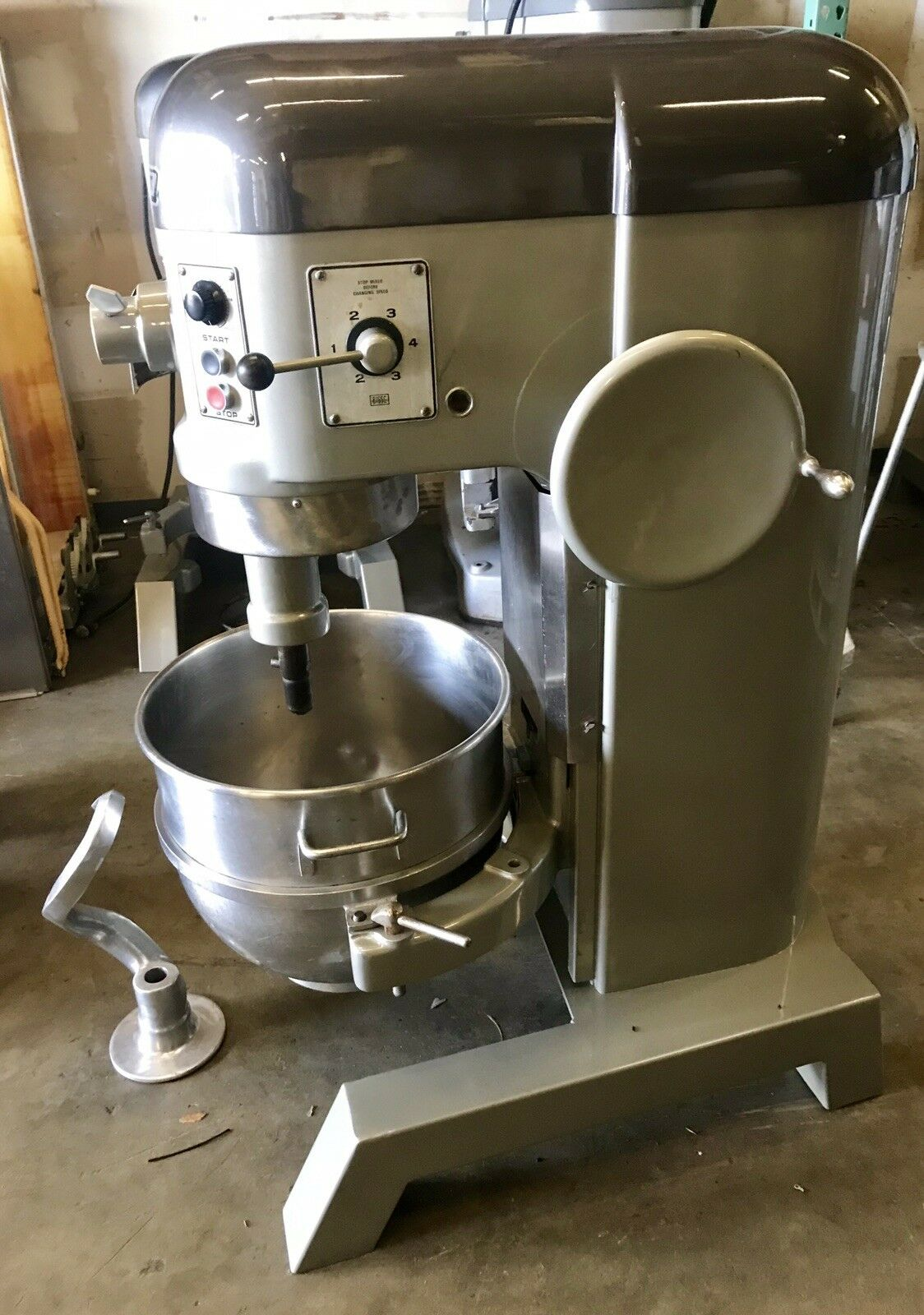 Hobart H600T Commercial 60 Quart Mixer 3 Phase 230V 60QT wow!