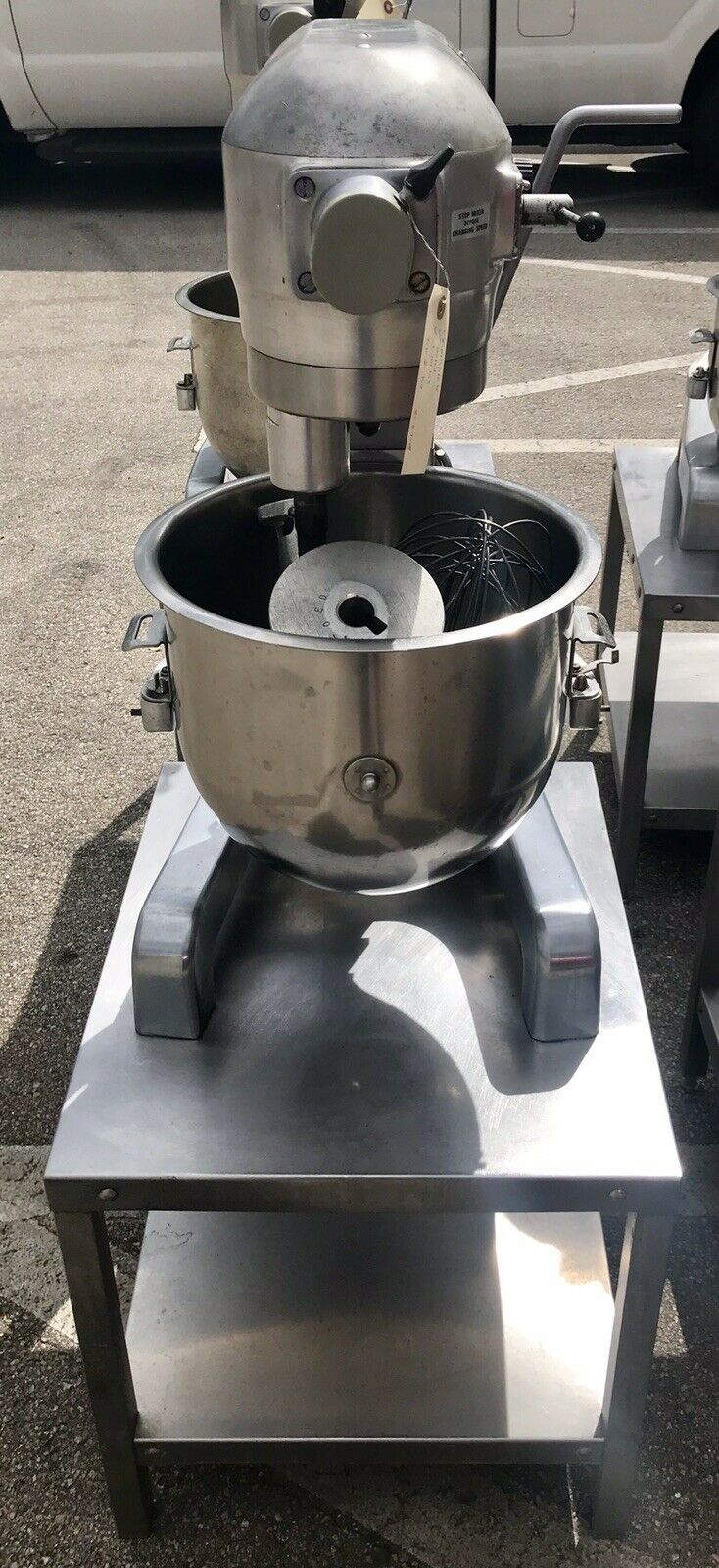 Hobart A-200T Commercial 20 QT Bakery Baking Dough Mixers with Bowl Whisk Paddle