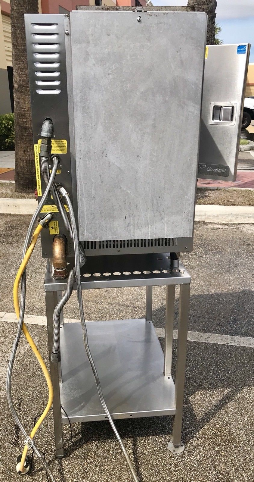 Cleveland, 22CGT6.1, Steam Chef, 6 Pan on a Stand Steamer, 32,000 BTU