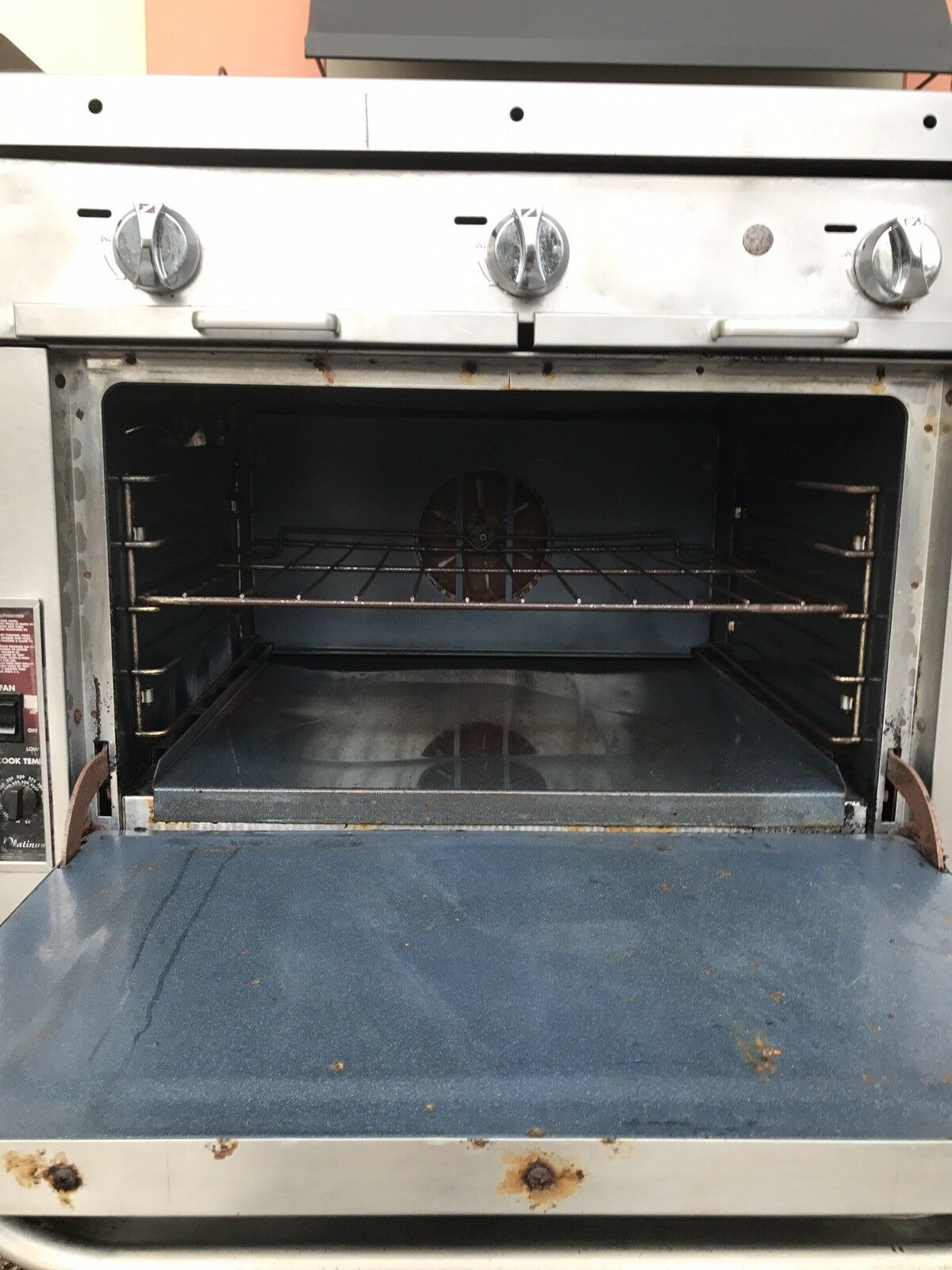 Southbend 48 Inch Char Grill With Convection Oven