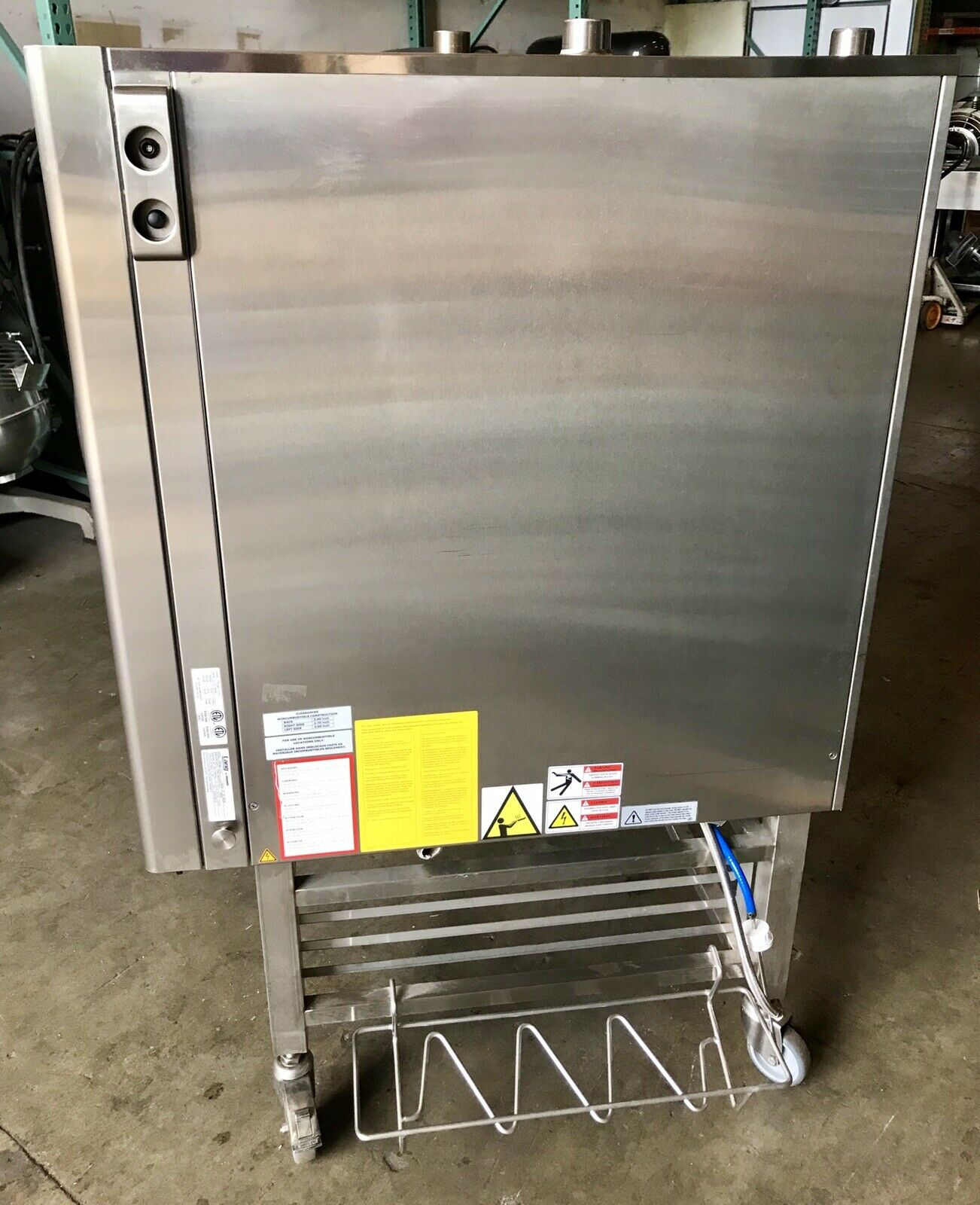 Lang Natural Gas combi oven MFG 2012