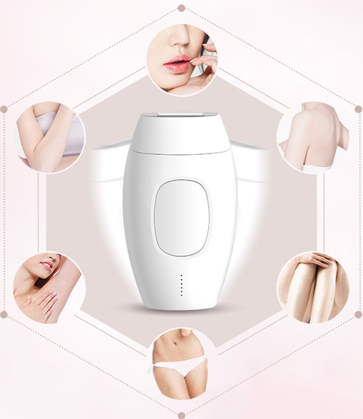 Electric Painless Hair Removal Laser Epilator Permanent Light IPL Home Machine Depilatory Body Bikini Face Leg Underarm - [exceenstores]