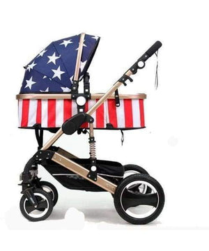 3 in 1 Baby Stroller - Foldable Carriage - [exceenstores]