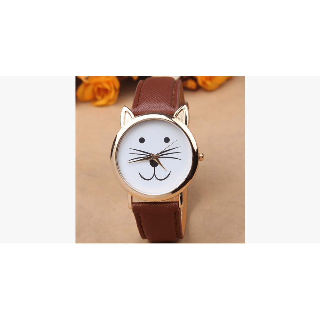 Cute Cat Trendy Watch (Shipped From USA)-Exceenstores