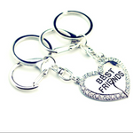 Adorable Best Friends Keychain (Ships From USA)-Exceenstores