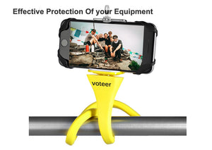 Flexible Selfie Stick Monopod - Wireless Bluetooth Tripod Holder-Exceenstores