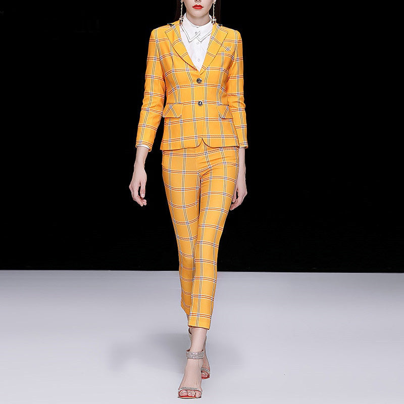 ExceenFit Runway Fashion - BossLady Lattice Blazers-Exceenstores