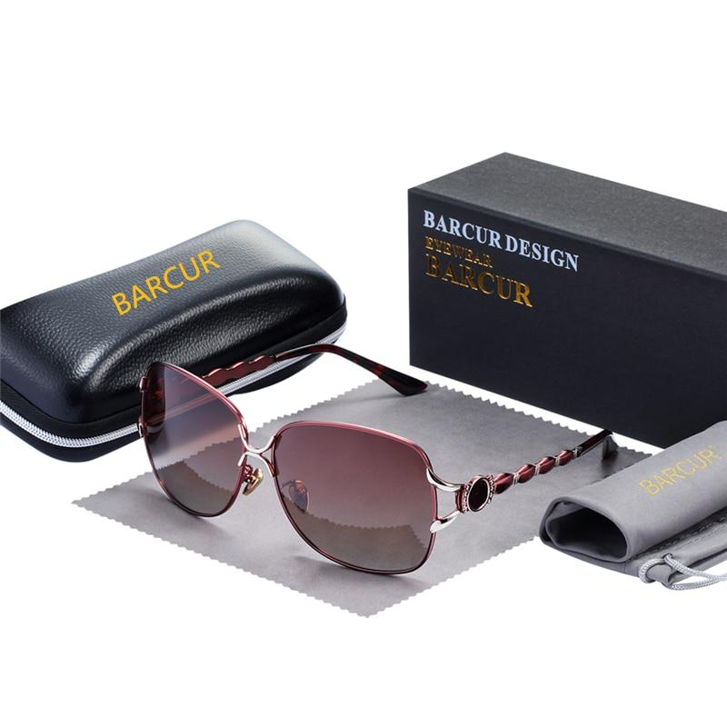 BARCUR Fashion Sunglasses for Women-Exceenstores