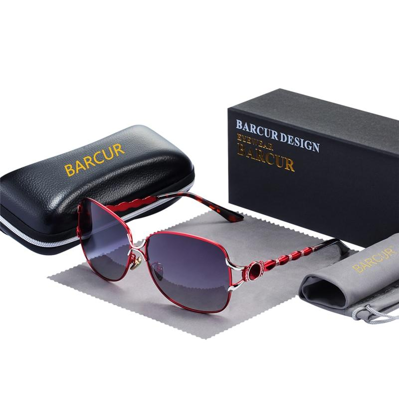 BARCUR Fashion Sunglasses for Women - [exceenstores]