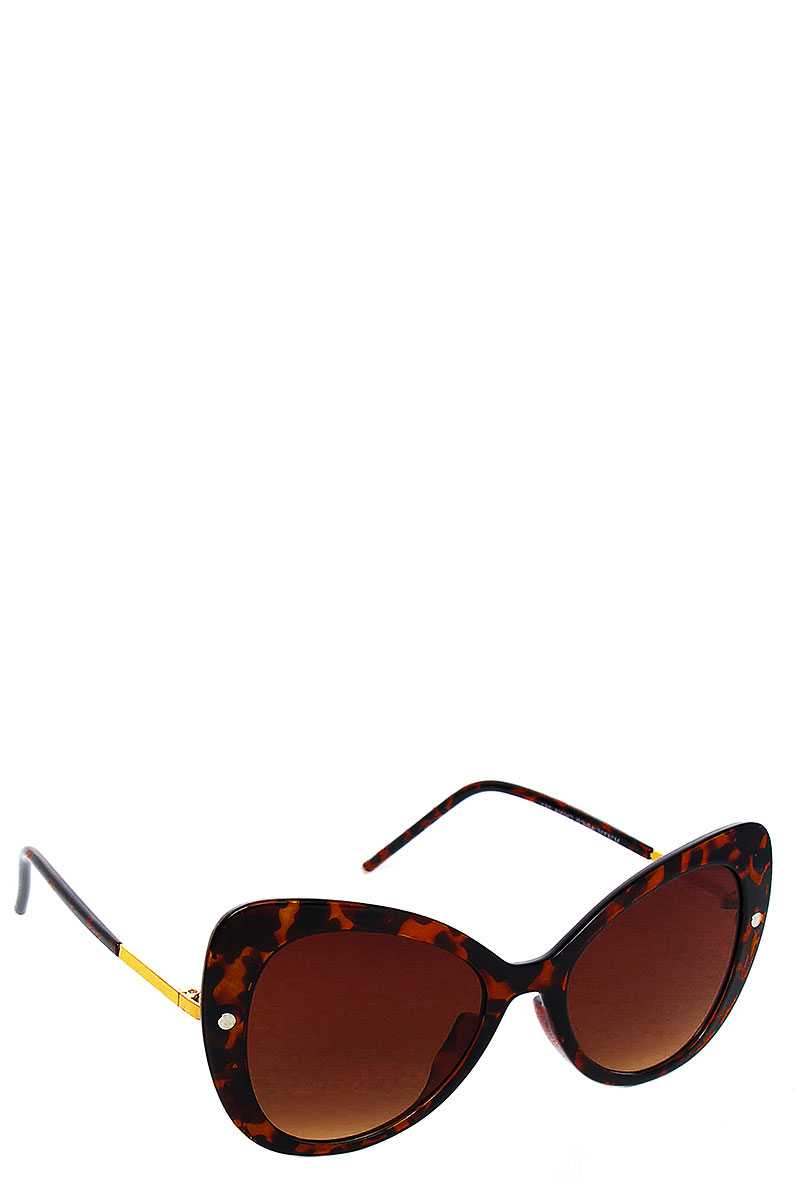 Stylish Fashion Butterfly Big Eye Sunglasses - Exceenstores