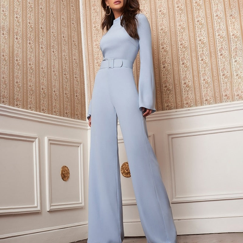 NovaChic Fashion - Elegant Corporate Jumpsuits-Exceenstores
