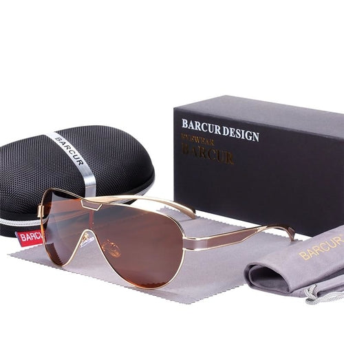 BARCUR Driving Polarized Sunglasses - [exceenstores]