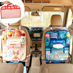 Cartoon diaper baby bag for mom, Car Seat Organizer Thermal Insulated, bolsas maternidade para bebe-Exceenstores