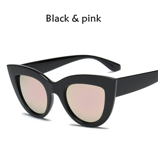 Vintage Cat Eye Sunglasses-Exceenstores