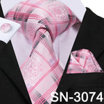 Top Fashion Men Luxury Silk Necktie-Exceenstores