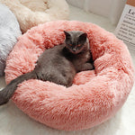 ComfyPet Plush Pet Bed for Cats and Dogs - Exceenstores